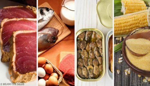 Les 6 aliments les plus chargés en toxines