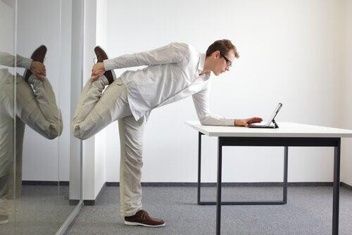 Stretching du bas du corps