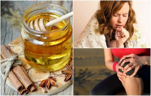 8 bienfaits médicinaux du mélange de cannelle et de miel