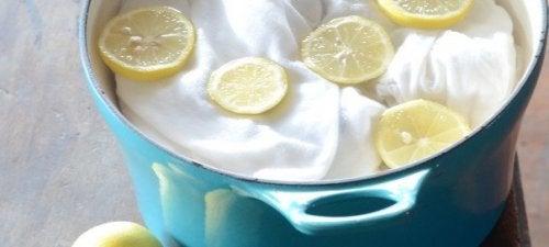 Utilisations curieuses du citron pour détacher vos vêtements.