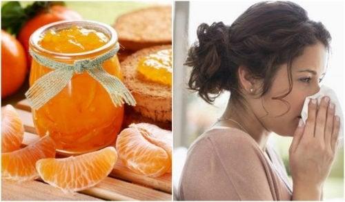 Comment préparer une confiture de mandarine pour renforcer vos défenses