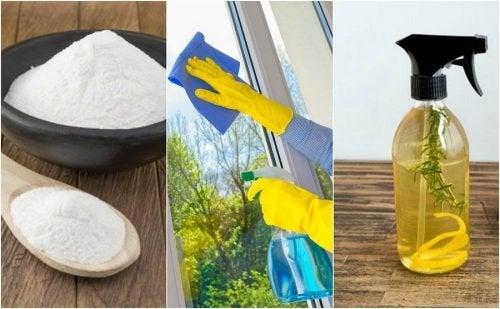 Comment un nettoyant écologique pour vitres avec 5 recettes maison
