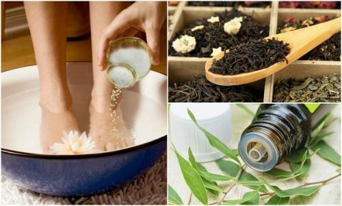 remèdes pour réduire la transpiration des pieds