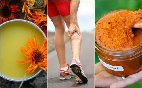 Comment préparer 3 crèmes anti-inflammatoires pour apaiser les douleurs musculaires
