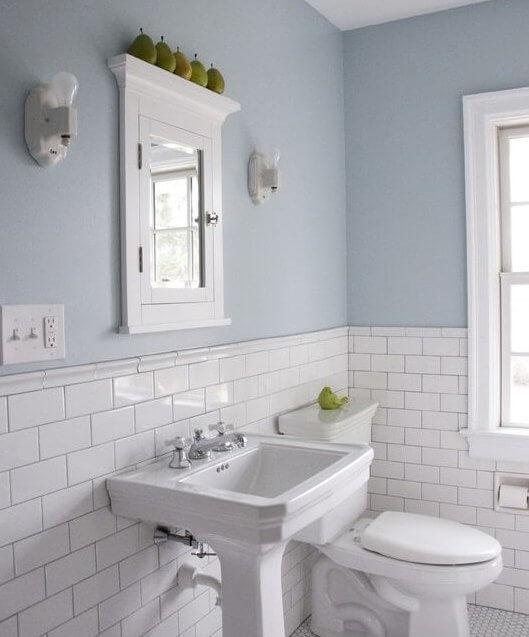 Décorer sa salle de bain : la couleur des murs