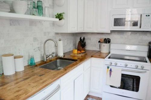 4 idées parfaites pour décorer les petites cuisines