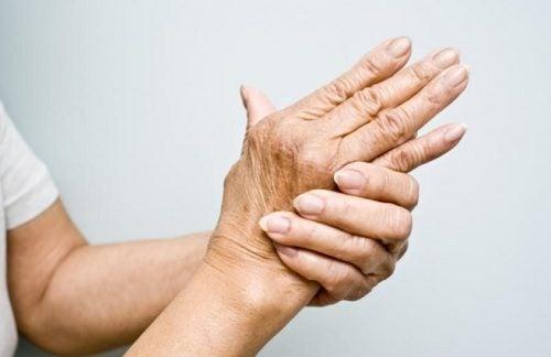 La douleur des mains