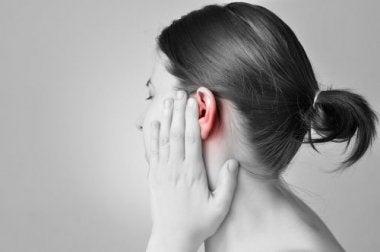 De l'eau dans les oreilles.