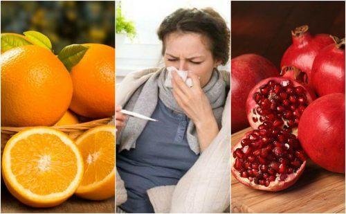 Prévenez la grippe en consommant ces 8 aliments