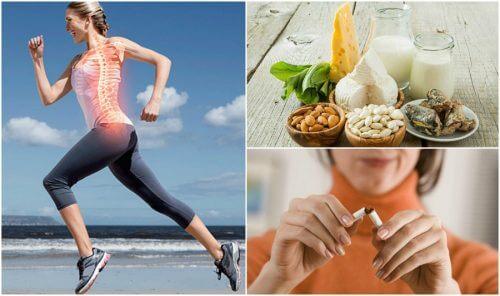 7 habitudes qui vous aideront à prévenir l'ostéoporose