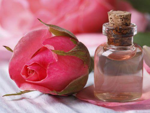 Huile essentielle de rose pour votre beauté.