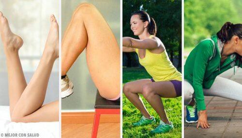 Comment travailler vos jambes confortablement chez vous ?