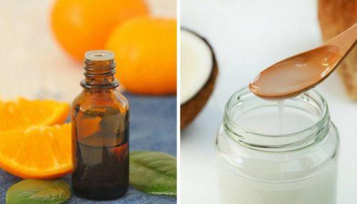 L'huile nutritive de coco et d'agrumes pour une jolie peau