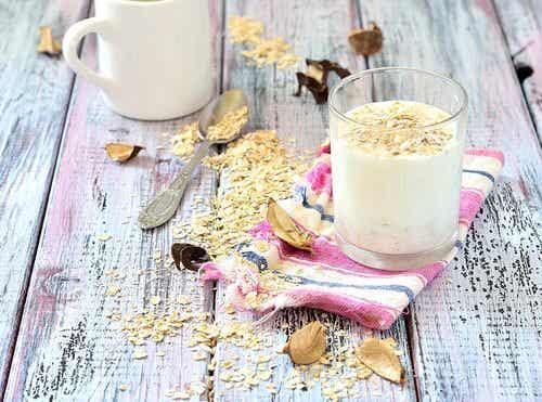 Les bienfaits de consommer du lait d'avoine