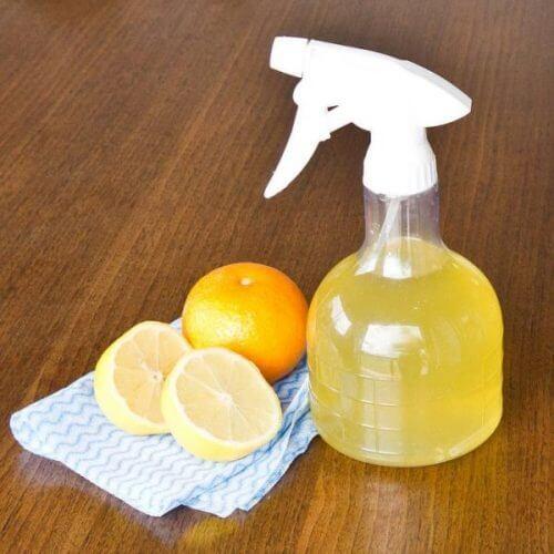 nettoyant lave vitres au citron