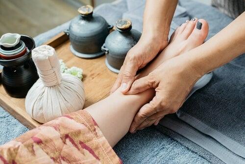 Les massages contre la douleur.