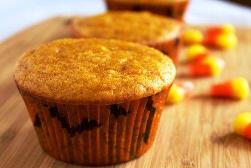 muffins au potiron.