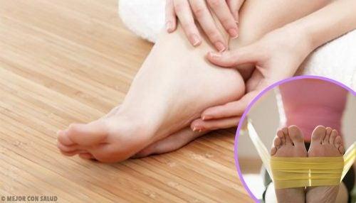 8 exercices pour renforcer les pieds