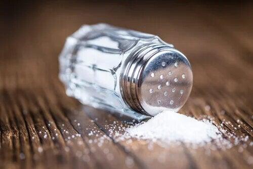 Le sel augment fortement la tension artérielle