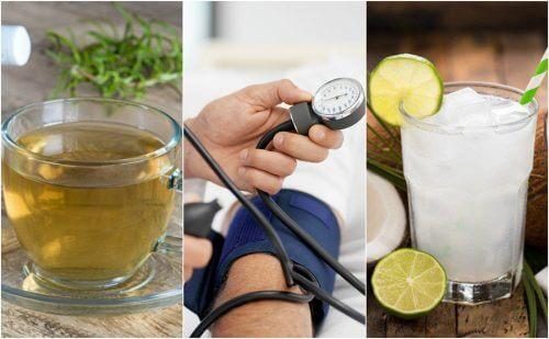 5 remèdes naturels pour contrôler l'hypotension artérielle