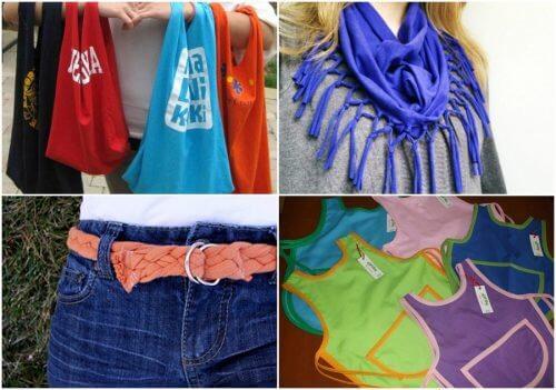 9 façons de recycler vos vielles chemises en coton