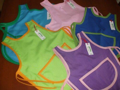 fabriquer des tabliers avec de vielles chemises en coton