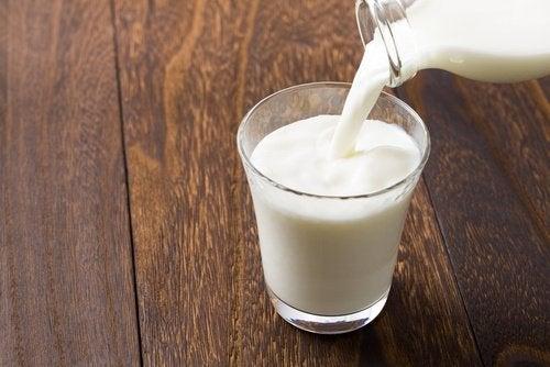 remède au lait froid