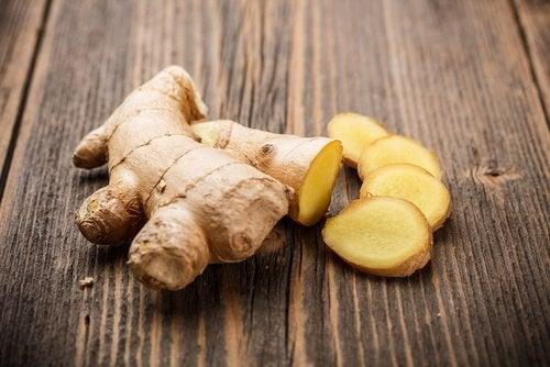 Les bienfaits du gingembre contre le rhume
