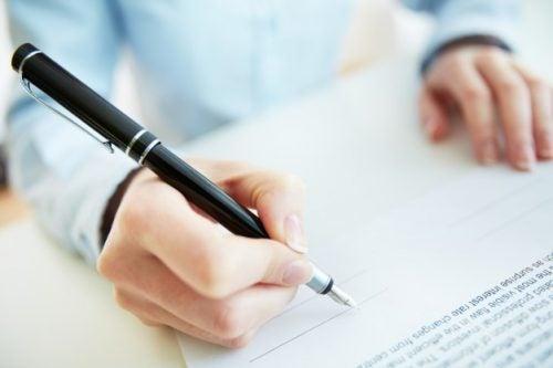 Découvrez la relation entre signature et personnalité