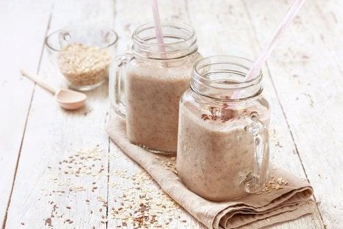le smoothie à l'avoine pour perdre du poids