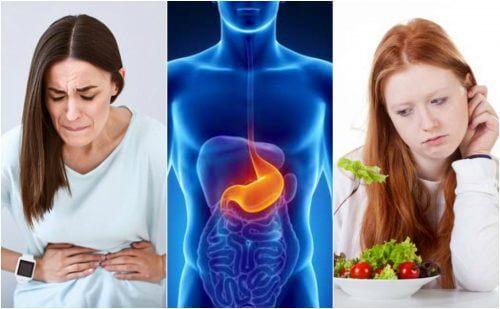8 symptômes notoires des ulcères de l'estomac
