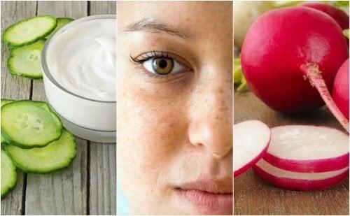 Comment réduire les taches de votre visage avec 5 remèdes d'origine naturelle