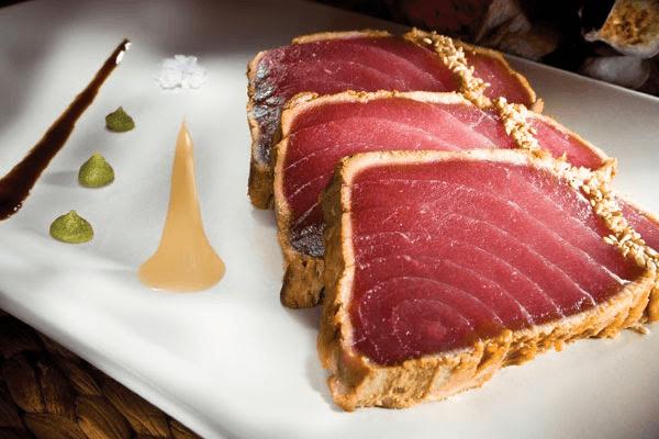 aliments les plus chargés en toxines : thon