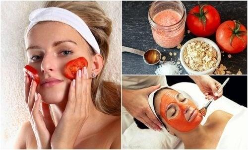 Découvrez 5 utilisations cosmétiques à base de tomate