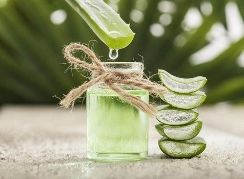 Le jus d'aloe vera est un excellent remède contre les démangeaison de la gorge