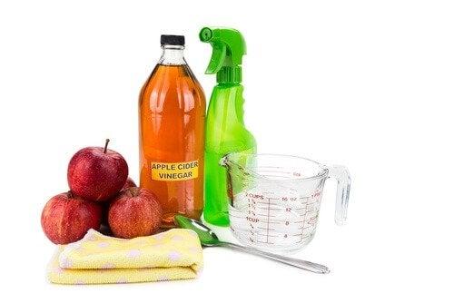 vinaigre de pomme pour désinfecter votre salle de bains