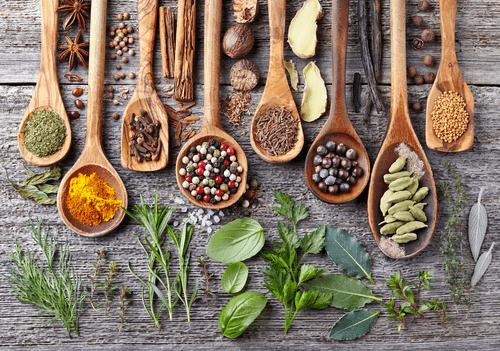 légumes qui provoquent des allergies : épices
