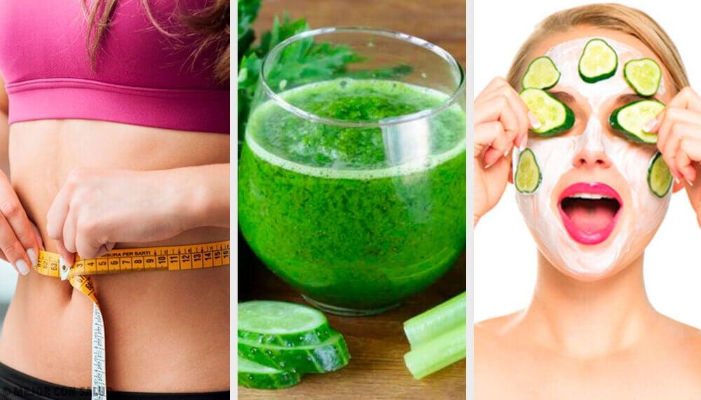 16 raisons de boire du jus de concombre