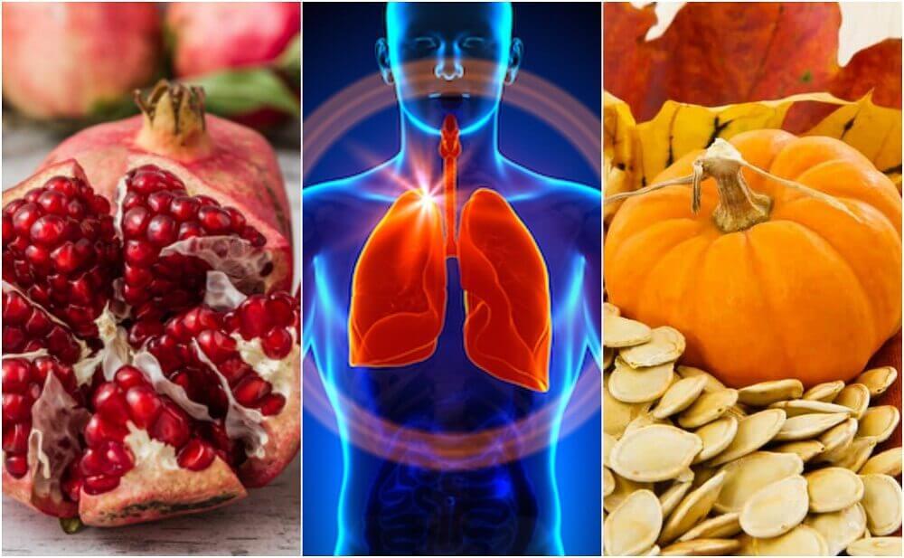6 aliments qui aident à améliorer la fonction pulmonaire