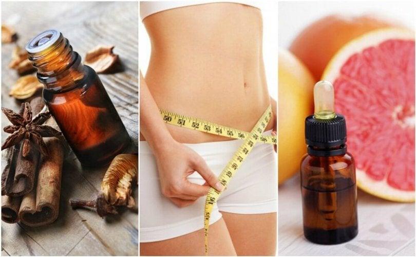 6 types d'huile essentielle pour vous aider à perdre du
