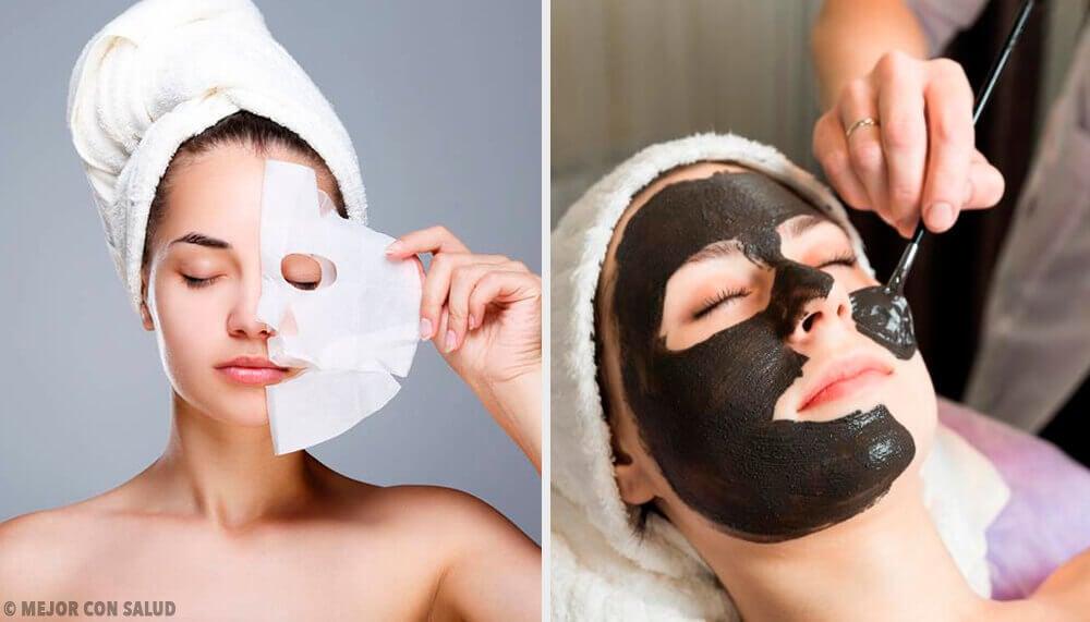 6 masques peel-off à la gélatine pour revitaliser la peau du visage