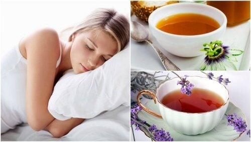 Comment préparer 5 infusions pour mieux dormir la nuit