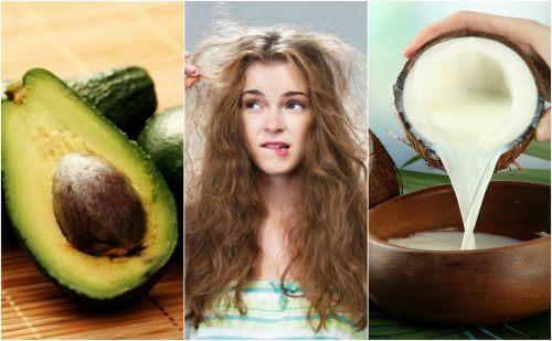Les 5 meilleurs produits naturels pour contrôler les frisottis des cheveux