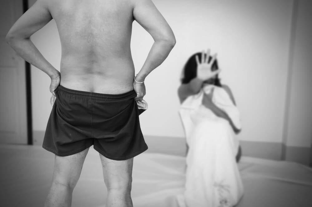 L'abus sexuel existe aussi dans le couple.