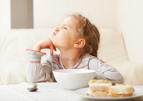 Comment détecter le syndrome d'une alimentation sélective.