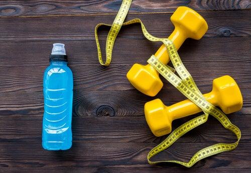 Faites de l'exercice pour boire plus d'eau.