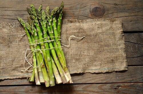 Un des bienfaits des asperges est qu'elles sont antioxydantes.
