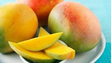 Assiette de mangues