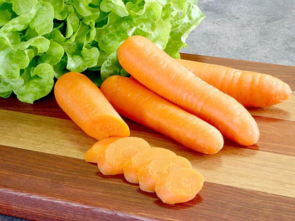 Les carottes font partie des aliments riches en potassium