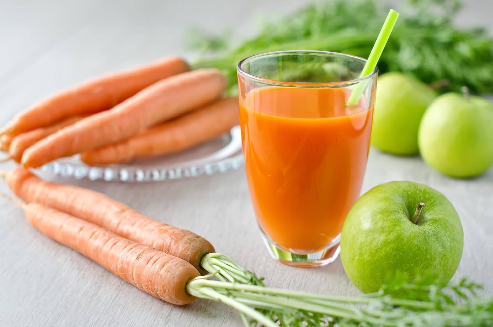 smoothie carotte pomme